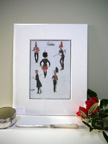 The Cavalree- 1980's print by Snaffles
